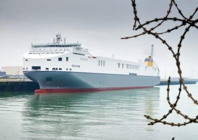 Cobelfret, MV Delphine, Hyundai, Lexioes – Zeebrugge, Belgium