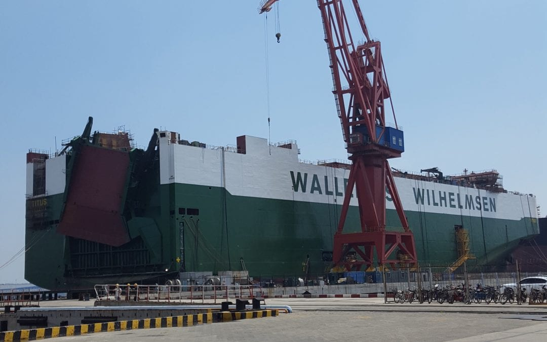Wallenius Wilhelmsen, MV Titus, Xingang Shipyard, China