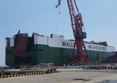 Wallenius Wilhelmsen, MV Titus, Xingang Shipyard, China