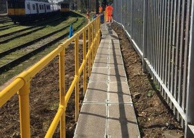 TTS Rail Anti Slip Walkway System