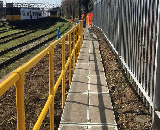 TTS Rail Anti Slip Walkway System